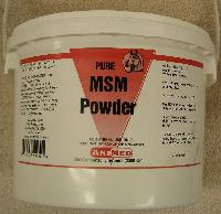 MSM Ultra 5 lb. - A feed supplement for use in horses. MSM is a bio-available source of dietary sulfur to aid in the synthesis of collagen, which promotes joint, cartilage and skin health.
