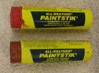 Paint Stick All Weather - The original all weather paint sticks. Resists weather and fading. Non toxic, marks wet or dry cattle.