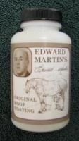Edward Martin Hoof Coating Clear - This unique, long lasting formula is easy to apply and environmentall friendly for both horse and applicator.
