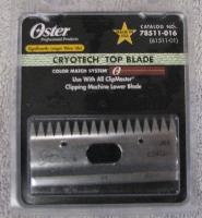 Clipper Blade 83AU Top - Top blade for oster clipmaster (beef) head.